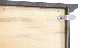 Close up of dresser packpanel