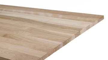 Close up of wood panel
