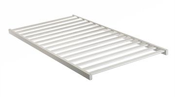 Solid wood crib railings