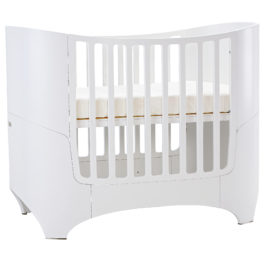 "leander ""4-in-1"" wooden convertible crib in white"