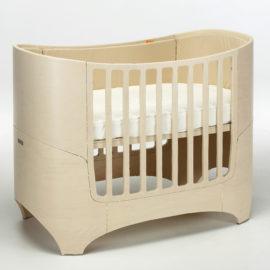 "leander ""4-in-1"" wooden convertible crib in whitewash"