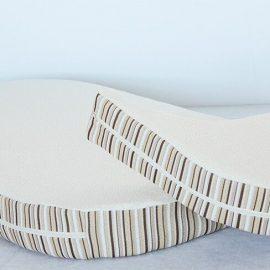 Essentia oval mattresses close up