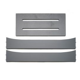 grey leander crib conversion kit